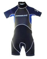 INFANT KIDS CHILDS INDIGO SHORTY WETSUIT AGES 2 TO 7 YEARS